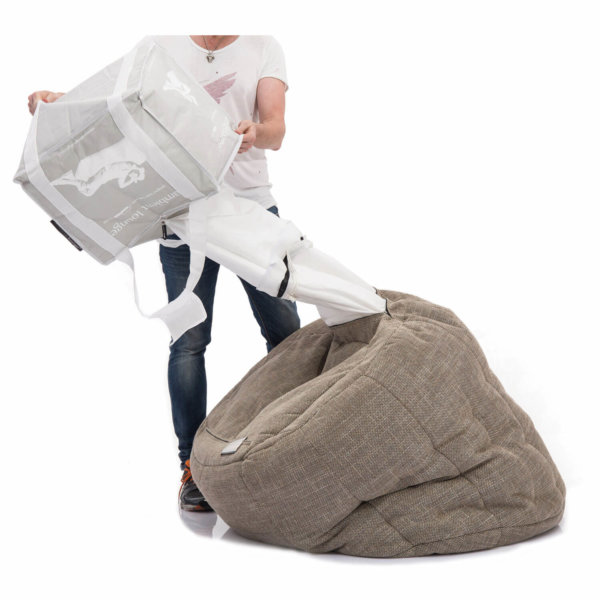 85lt Bean Bag Filling tipping
