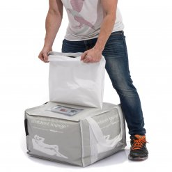 85lt Bean Bag Filling unzipped