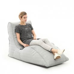 ambient lounge silver ourdoor bean bag lounge