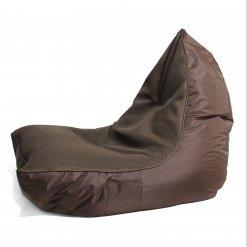 Air mesh choc-o-holic brown bean bag set side view