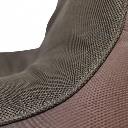 Air mesh choc-o-holic brown bean bag set mesh closeup