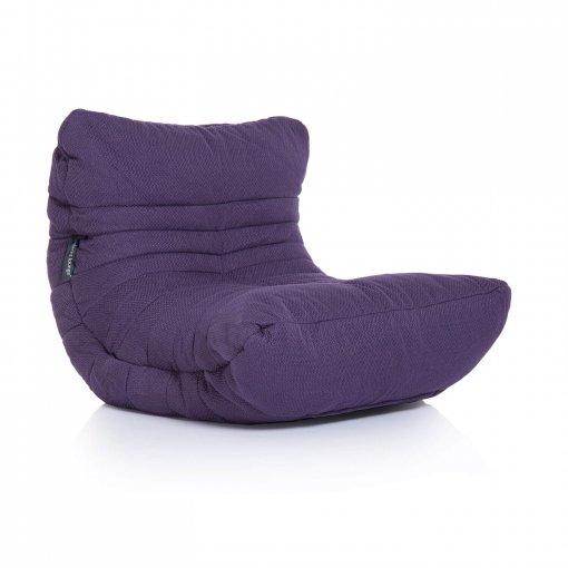 aubergine dream acoustic bean bag