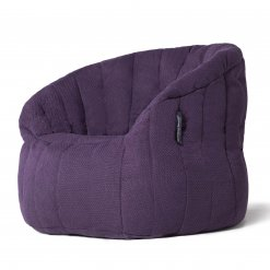 aubergine dream butterfly bean bag