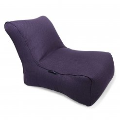 aubergine dream evolution lounger bean bag