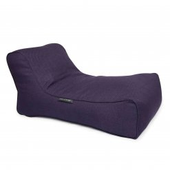aubergine dream studio lounger bean bag