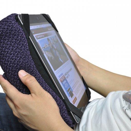 aubergine dream tech pillow bean bag for ipad
