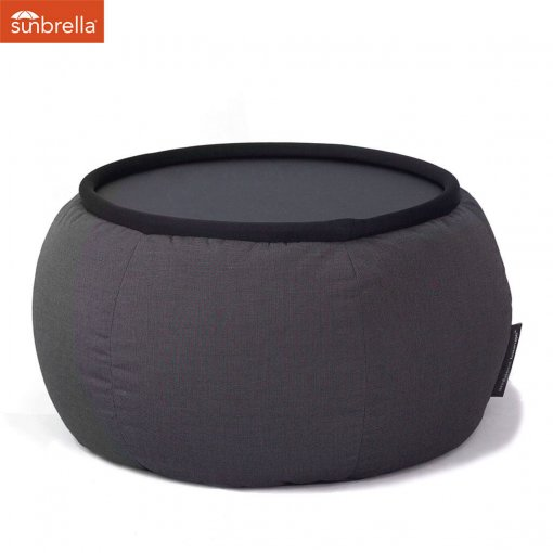black sapphire versa table bean bag