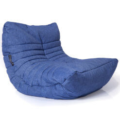 blue jazz acoustic bean bag different angle