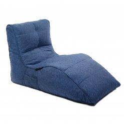 blue jazz avatar lounger bean bag