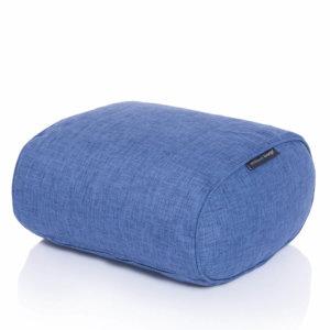 blue jazz ottoman bean bag