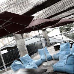 blue sky eclipse evolution sofa bean bag for outdoors