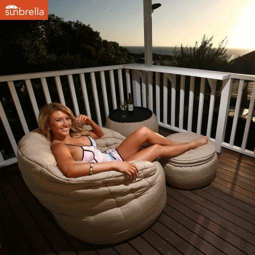 butterfly sofa bean bag mudhoney dune for outdoor