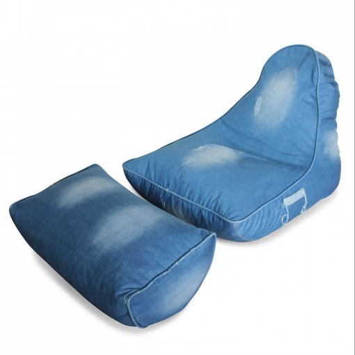 Denim Jeanious bean bag set high view