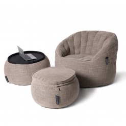 Designer bean bag set in Eco weave