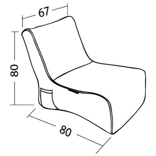 Ambient Lounge Evolution Sofa Dimensions
