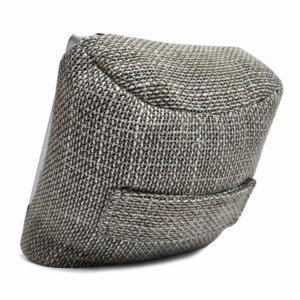 eco weave tech pillow bean bag back view