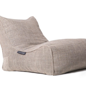 Evolution sofa bean bag in Eco Weave 3/4 view