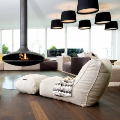 Evolution sofa bean bag in Eco Weave in gallery