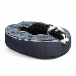 Extra large pet bed with collie
