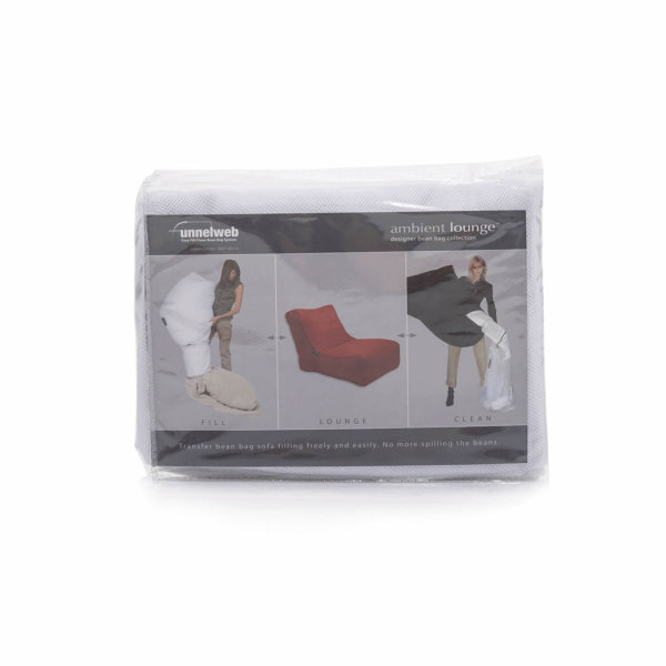funnelweb filling bag closed package