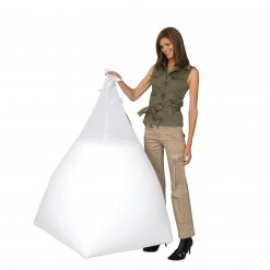 Funnelweb mesh filling bag with model