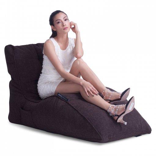 hot chocolate avatar lounger bean bag slant view