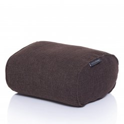 hot chocolate ottoman bean bag