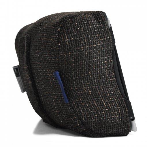 hot chocolate tech pillow bean bag back view