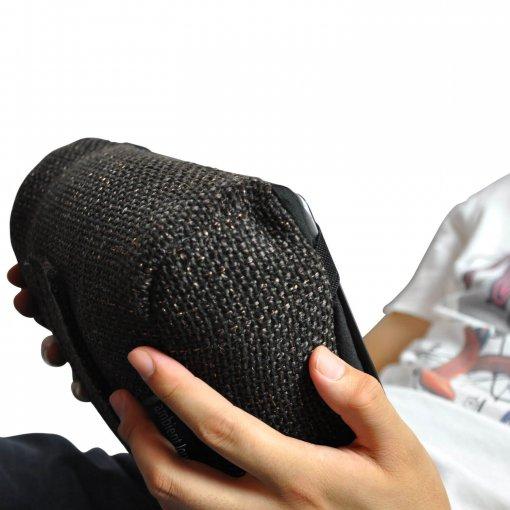 hot chocolate tech pillow bean bag for ipad