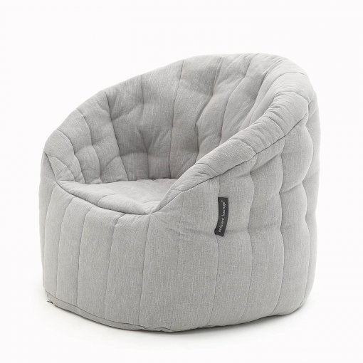 keystone grey butterfly sofa bean bag