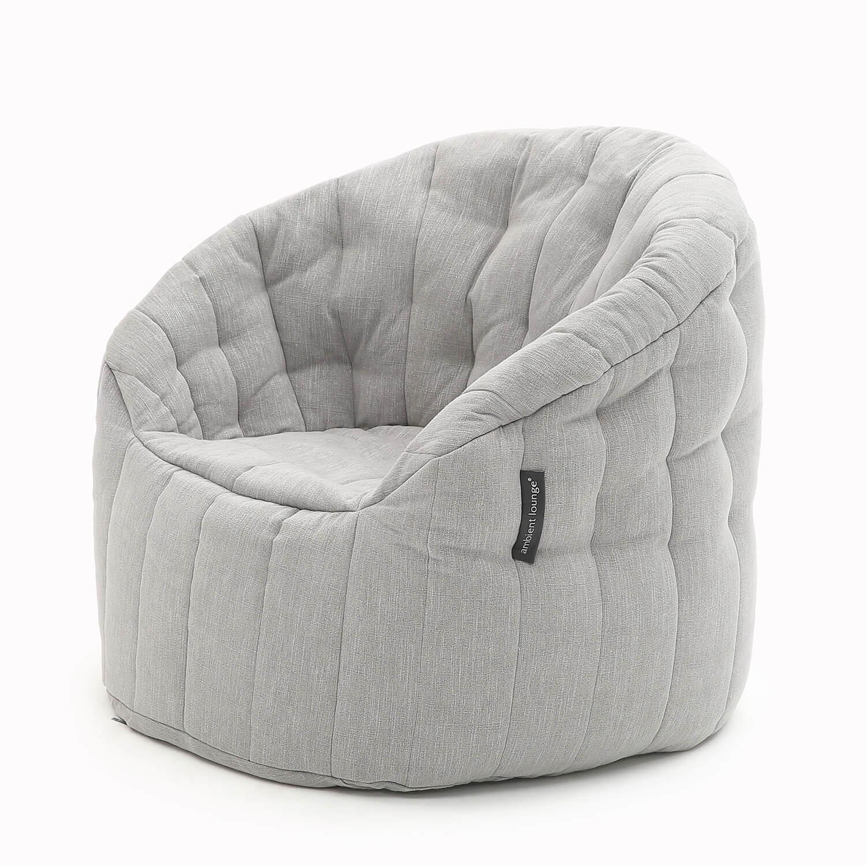 Linen Bean Bag Furniture Butterfly Sofa In Premium