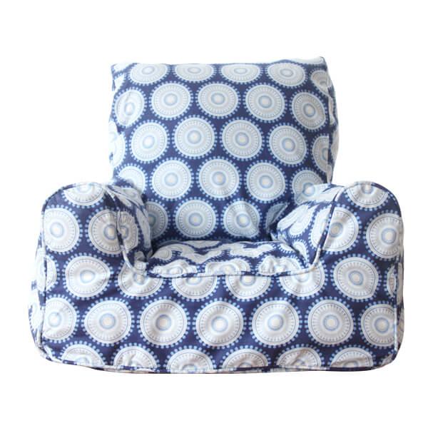 Terrific Navy Freckles Kids Chair Unemploymentrelief Wooden Chair Designs For Living Room Unemploymentrelieforg