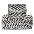 Lelbys kids bean bags chair in paint splotches pattern