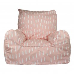Lelbys kids bean bags chair in pink