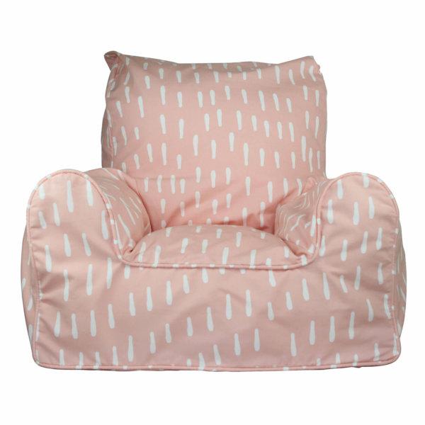 Lelbys kids bean bags chair in pink