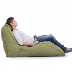 lime citrus avatar lounger bean bag side view