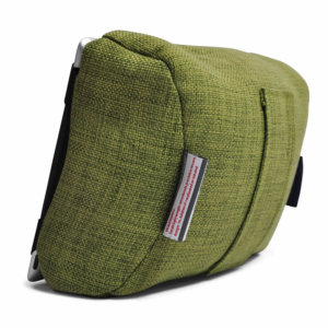 lime citrus tech pillow bean bag back view - Copy