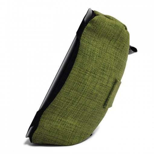 lime citrus tech pillow bean bag side view - Copy
