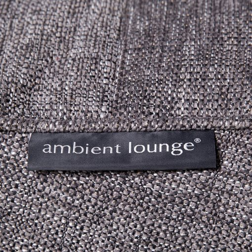 Luscious grey fabric swatch