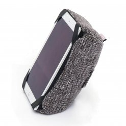 luscious grey tech pillow bean bag with ipad