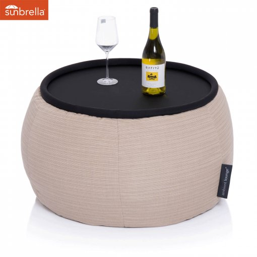 mudhoney dune versa table bean bag
