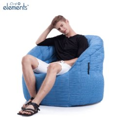 oceana butterfly sofa bean bag with model