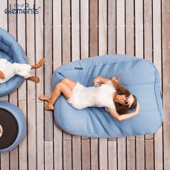 oceana satellite twin bean bag for outdoor