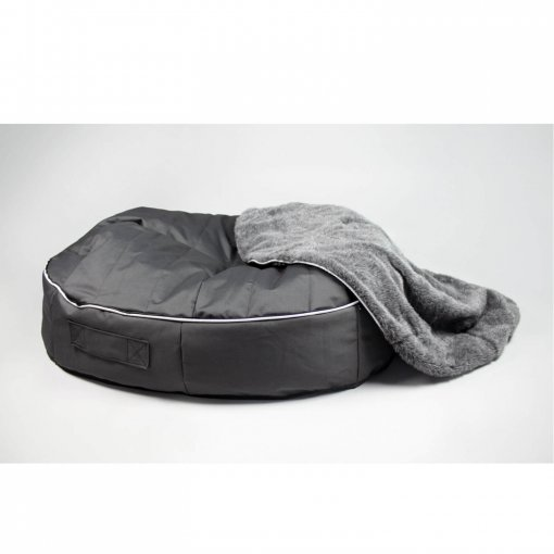 Extra large pet bed with top removed