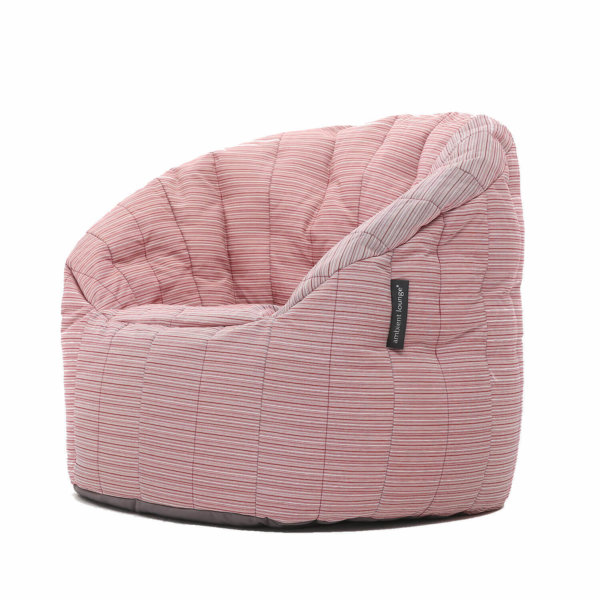 raspberry polo butterfly sofa