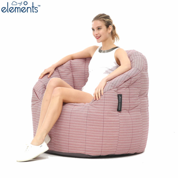 raspberry polo butterfly sofa with model