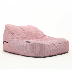 raspberry satellite twin bean bag lounger