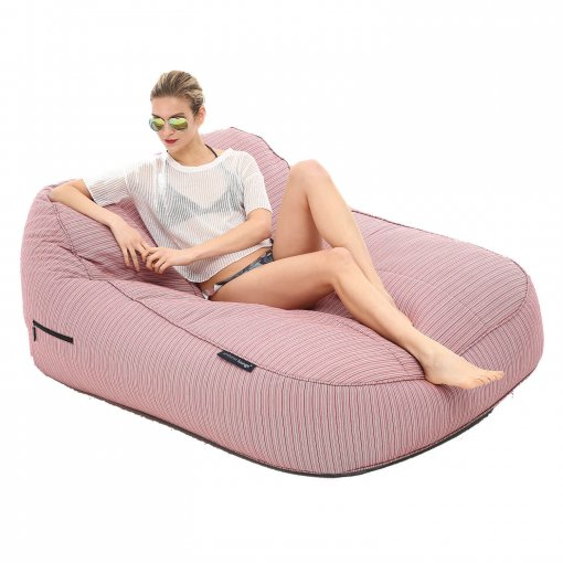 raspberry satellite twin bean bag with model 2
