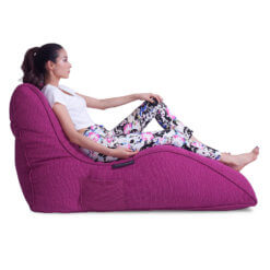 sakura pink avatar bean bag sideview