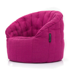 sakura pink butterfly sofa bean bag